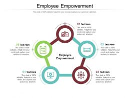 Employee Empowerment Ppt Powerpoint Presentation Infographic Template Graphic Tips Cpb