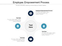 Employee Empowerment Process Ppt Powerpoint Presentation Ideas Slide Download Cpb