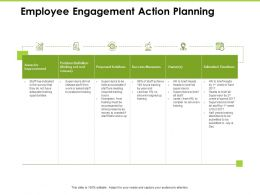 Employee Engagement Action Planning Measures Ppt Powerpoint Presentation Graphics