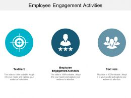 Employee Engagement Activities Ppt Powerpoint Presentation Slides Layout Ideas Cpb