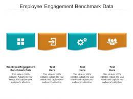 Employee Engagement Benchmark Data Ppt Powerpoint Presentation Ideas Cpb