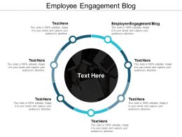 Employee Engagement Blog Ppt Powerpoint Presentation File Example Topics Cpb