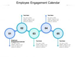 Employee Engagement Calendar Ppt Powerpoint Presentation Layouts Format Cpb
