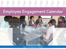 Employee Engagement Calendar Team Management Gantt Chart Marking Weekly Organisation