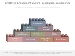 Employee Engagement Culture Presentation Backgrounds