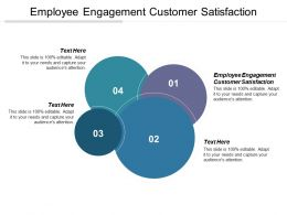 Employee Engagement Customer Satisfaction Ppt Powerpoint Presentation File Good Cpb