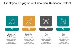 Employee Engagement Execution Business Protect Business Idea Idea Startup Cpb