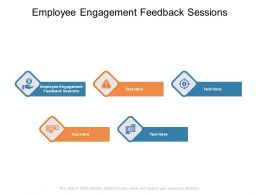 Employee Engagement Feedback Sessions Ppt Powerpoint Presentation Summary Sample Cpb