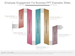 Employee Engagement For Business Ppt Examples Slides
