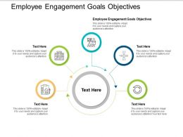 Employee Engagement Goals Objectives Ppt Powerpoint Presentation Model Graphic Images Cpb
