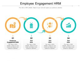 Employee Engagement HRM Ppt Powerpoint Presentation Layouts Guidelines Cpb