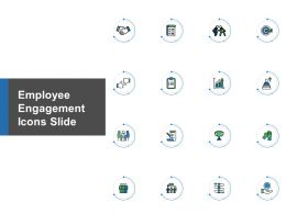 Employee Engagement Icons Slide Growth Strategy Powerpoint Presentation Slides