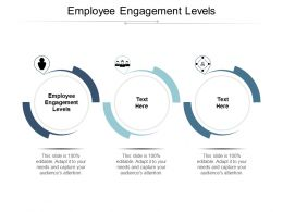 Employee Engagement Levels Ppt Powerpoint Presentation Slides Visuals Cpb