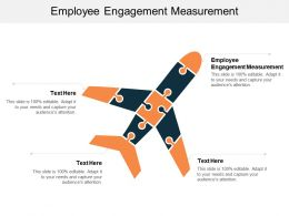 Employee Engagement Measurement Ppt Powerpoint Presentation Slides Designs Cpb