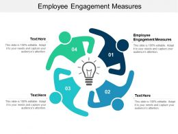 Employee Engagement Measures Ppt Powerpoint Presentation Slides Graphics Cpb