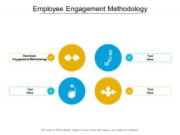 Employee Engagement Methodology Ppt Powerpoint Presentation Pictures Grid Cpb