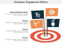 Employee Engagement Metrics Ppt Powerpoint Presentation Slides Influencers Cpb