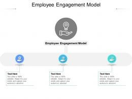Employee Engagement Model Ppt Powerpoint Presentation File Design Templates Cpb