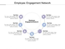 Employee Engagement Network Ppt Powerpoint Presentation Background Cpb