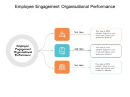 Employee Engagement Organisational Performance Ppt Powerpoint Gallery Picture Cpb
