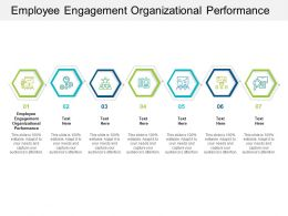 Employee Engagement Organizational Performance Ppt Powerpoint Presentation Pictures Aids Cpb