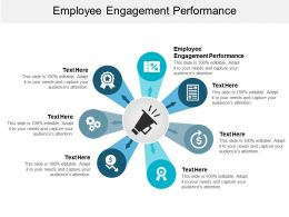 Employee Engagement Performance Ppt Powerpoint Presentation Slides Master Slide Cpb