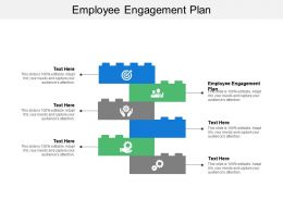 Employee Engagement Plan Ppt Powerpoint Presentation Outline Background Designs Cpb