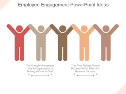 Employee Engagement Powerpoint Ideas