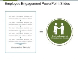 Employee Engagement Powerpoint Slides