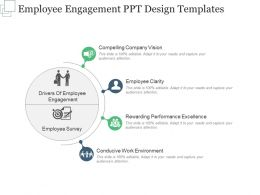 Employee Engagement Ppt Design Templates