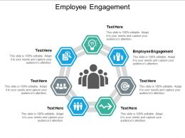 Employee Engagement Ppt Powerpoint Presentation Inspiration Information Cpb