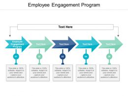 Employee Engagement Program Ppt Powerpoint Presentation Gallery Show Cpb