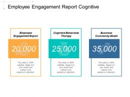 Employee Engagement Report Cognitive Behavioral Therapy Business Continuity Model Cpb