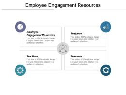 Employee Engagement Resources Ppt Powerpoint Presentation File Ideas Cpb