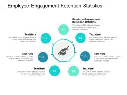 Employee Engagement Retention Statistics Ppt Powerpoint Presentation File Grid Cpb