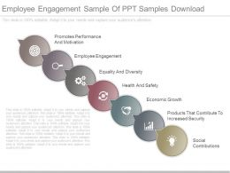 Employee Engagement Sample Of Ppt Samples Download
