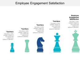 Employee Engagement Satisfaction Ppt Powerpoint Presentation File Layout Ideas Cpb
