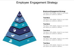 Employee Engagement Strategy Ppt Powerpoint Presentation Slides Show Cpb