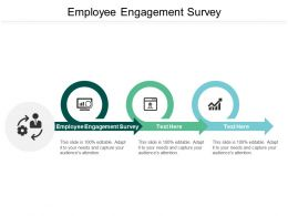 Employee Engagement Survey Ppt Powerpoint Presentation Gallery Slides Cpb