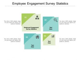 Employee Engagement Survey Statistics Ppt Powerpoint Presentation Layouts Layout Ideas Cpb