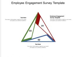 Employee Engagement Survey Template Ppt Powerpoint Presentation Gallery Cpb