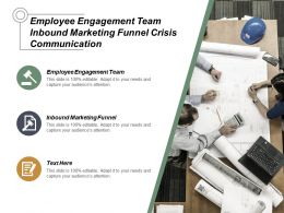 Employee Engagement Team Inbound Marketing Funnel Crisis Communication Cpb