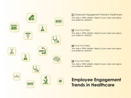 Employee Engagement Trends In Healthcare Ppt Powerpoint Presentation Icon Layouts