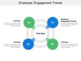 Employee Engagement Trends Ppt Powerpoint Presentation Professional Slide Portrait Cpb