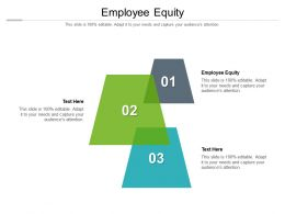 Employee Equity Ppt Powerpoint Presentation Portfolio Introduction Cpb