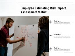 Employee Estimating Risk Impact Assessment Matrix