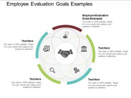 Employee Evaluation Goals Examples Ppt Powerpoint Presentation Outline Icons Cpb