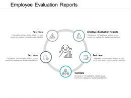 Employee Evaluation Reports Ppt Powerpoint Presentation Inspiration Templates Cpb