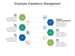Employee Experience Management Ppt Powerpoint Presentation Summary Graphics Cpb