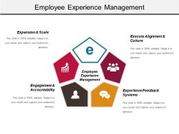 Employee Experience Management Ppt Presentation